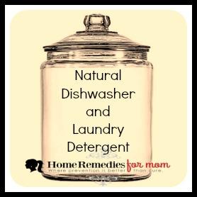 natural dishwasher and laundry detergent home remedies for mom. Black Bedroom Furniture Sets. Home Design Ideas